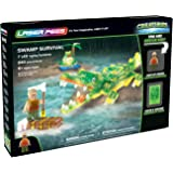 Laser Pegs Swamp Survival Light-Up Building Block Playset (240 Piece) The First Lighted Construction Toy to Ignite Your Child's Creativity; It's Your Imagination, Light It Up