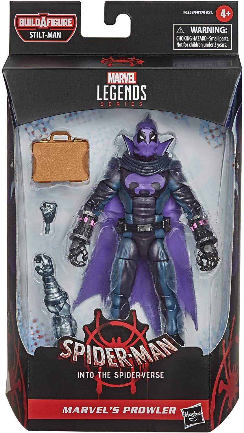 Hasbro Marvel Legends Series Spider-Man Into the Spider-Verse Marvel/'s Prowler 6-inch Collectible Action Figure Toy For Kids Age 4 and Up
