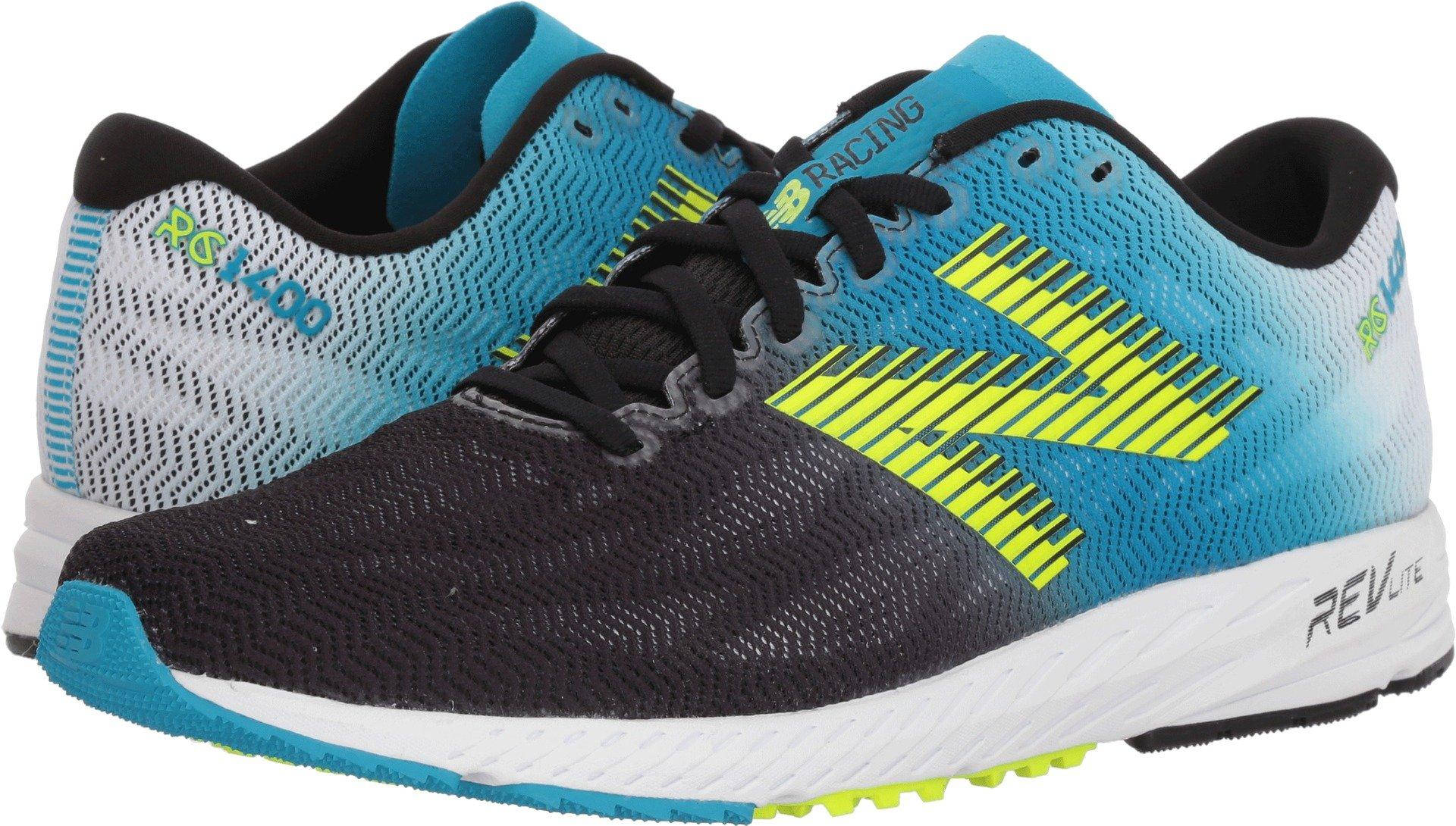 los angeles e1c23 dc10f New Balance Men's 1400v6 Running Shoe, Blue/Black, 13 D US
