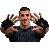 Bear KompleX 3-gaats lederen handgrepen voor gymnastiek & Crossfit, Pull-ups, gewichtheffen. WODs polsriemen. comfort…