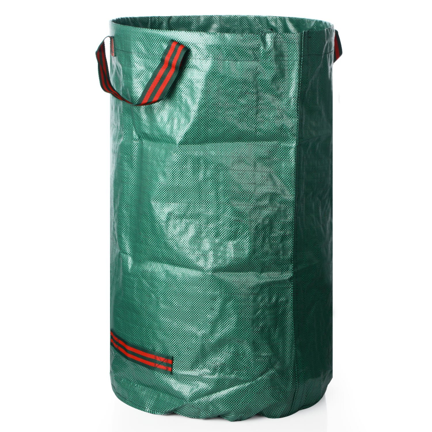 72Gallons Garden Bags, Gallon Reusable Garden Bags, Yard Leaf Lawn Grass Waste Trash Container - Heavy Duty Collapsible Basket with Portable Handles