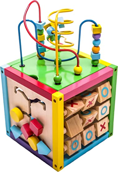 8-IN-1 ACTIVITY PLAY CUBE 8 different activities to entertain itself for CHILD/'S