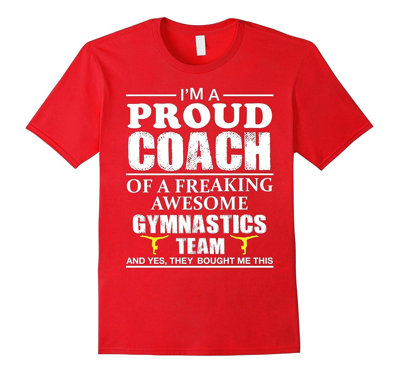 Proud Gymnastics Coach Shirt - Gift for Gymnastics Coach-TD