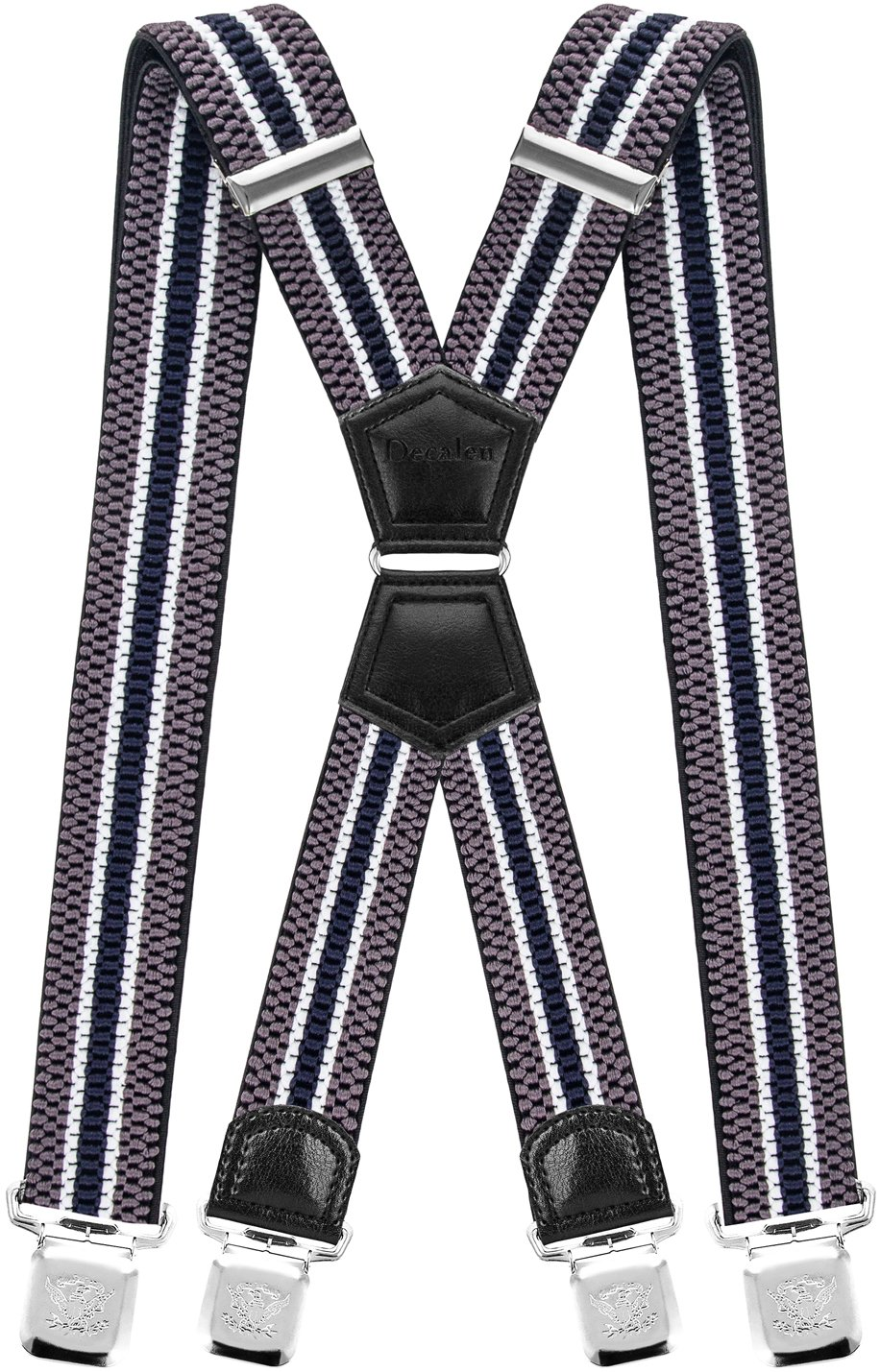Mens Suspenders X Style Very Strong Clips Adjustable One Size Fits All Heavy Duty Braces Model 01-XX-UK