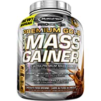 MuscleTech Pro Series Premium Gold Mass Gainer, Chocolate, 4 Pound