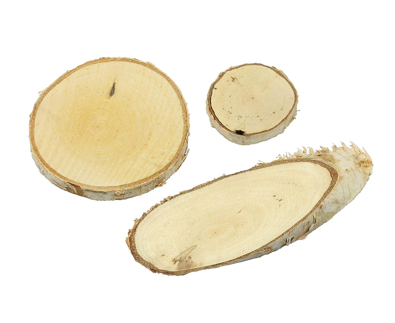 5 x 12 cm lang, oval Lucky Hands Holzsockel