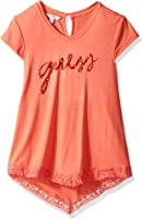 GUESS Big Girls' Short Sleeve Swing T-Shirt