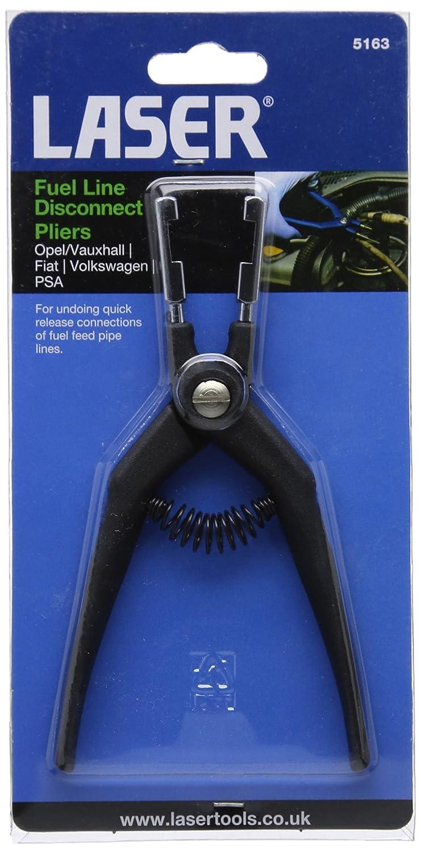 laser 5163 fuel line disconnect pliers amazon co uk car motorbike