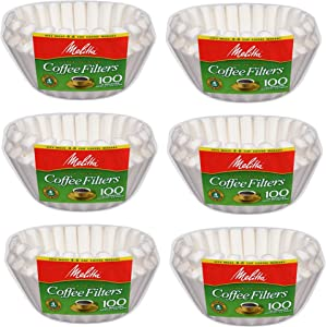 Melitta Junior Basket Coffee Filters White (6)