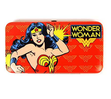 Wonder Woman Ladies Action Pose Clutch Purse  Amazon.co.uk  Kitchen   Home 55cb44c0a5