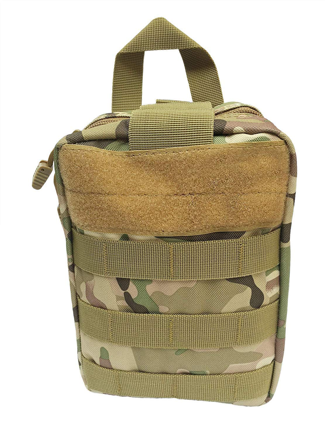 WildCow Emergency Pet First Aid Kit for Dog and Cat 40 Pieces (Camo Tan) by WildCow