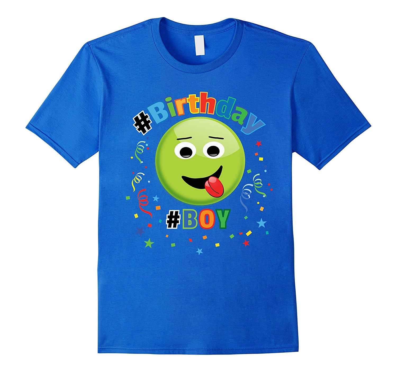 Emoji Birthday Shirt For Boys 5 6 7 8 9 10 11 12-CD