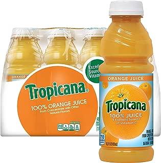 product image for Tropicana Orange Juice, 15.2 Fl Oz Bottles, Pack of 12