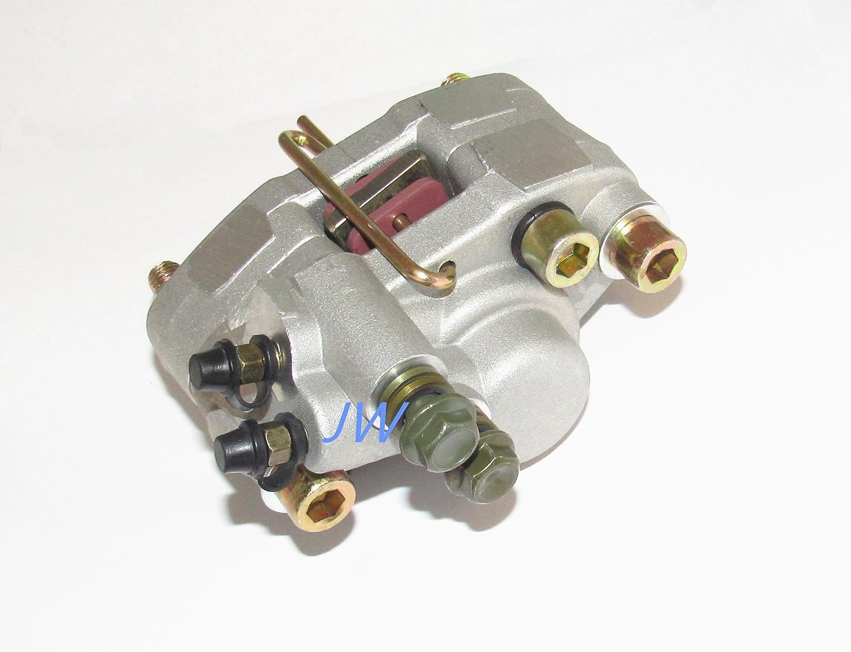 1998 1999 2000 2001 Polaris 500 Scrambler 4X4 Rear Brake Pads /& Brake Rotor Disc