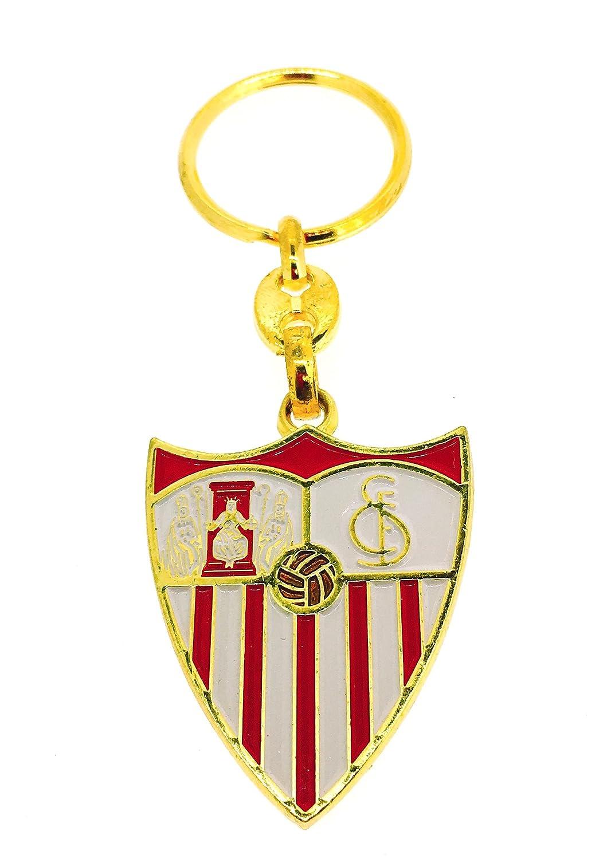 Gemelolandia Llavero Escudo Dorado Sevilla Fútbol Club ...