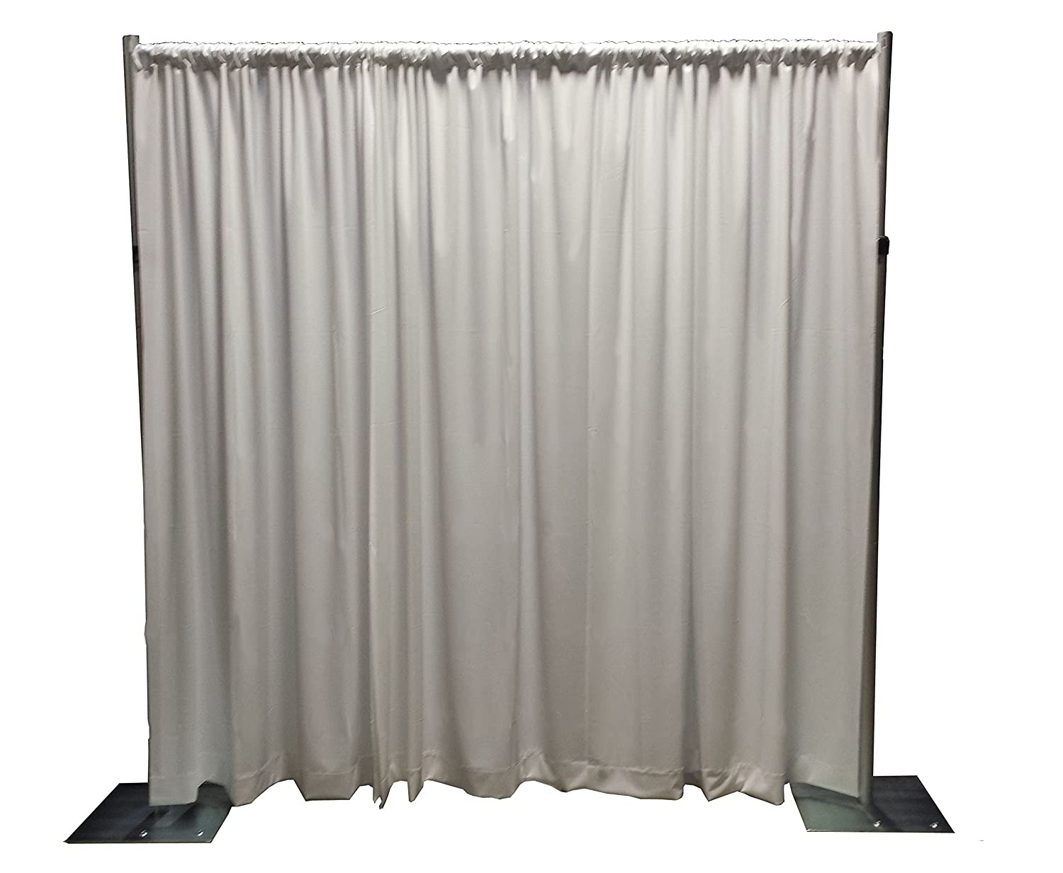pipe drapes ge backdrop and meters pro panel wide drape adjustable c ft kits store kit
