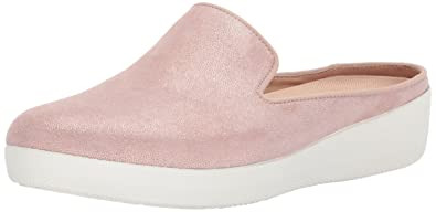 dc26e85e2f35 FitFlop Women s Superskate Shimmersuede Slip-ON Mules