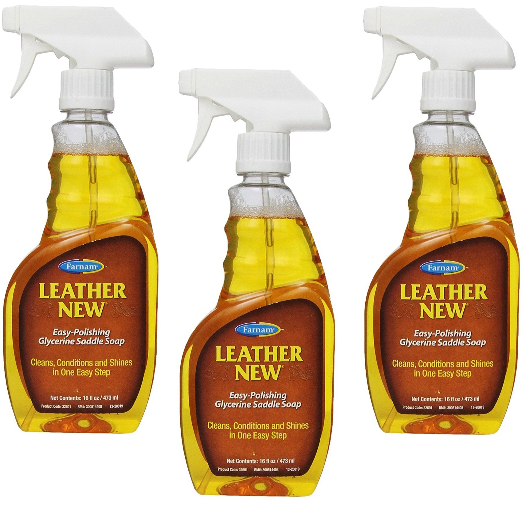 (3 Pack) Farnam Saddle Soap 16 Ounces each