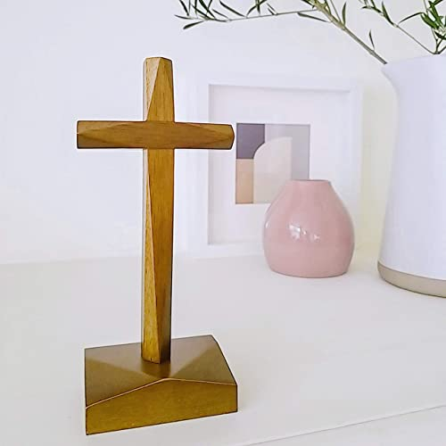 Way Maker Holy Standing Wood Cross Table Altar Cross Home Decor Premium Quality-Medium