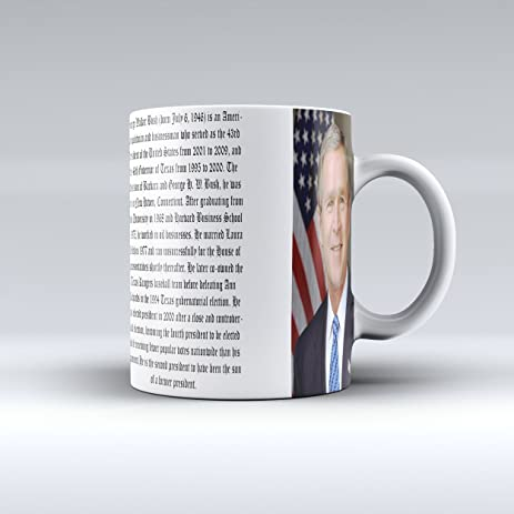 bush citater Amazon.com: President George W Bush Mug Presidential Mug Ceramic  bush citater