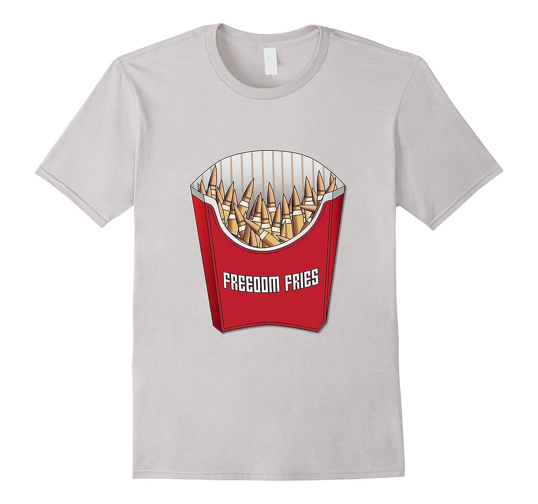 ecc956597 2nd Amendment Freedom Fries Ammo Military T-Shirt-TH - TEEHELEN