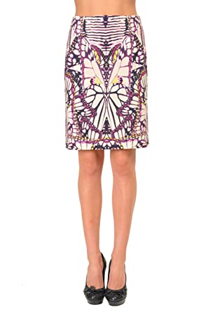 51142d556d Image Unavailable. Image not available for. Color: Just Cavalli Multi-Color Women's  Straight Pencil Skirt US ...