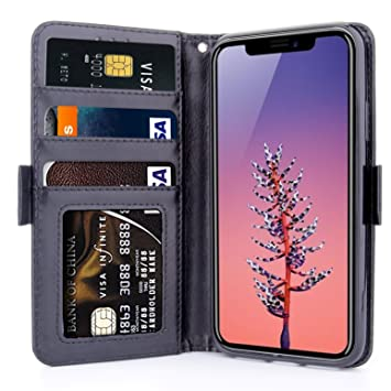 coque portefeuille iphone x