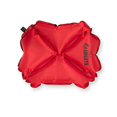 Inflatable Compact Travel Pillow Ultra Lightweight Foldable Blowup Camping Pillow