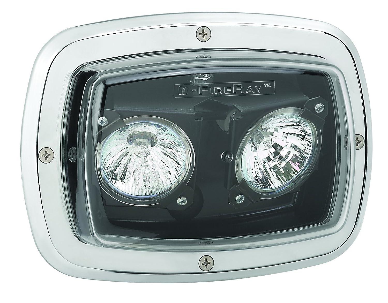 Federal Signal GHSCENE 20W Adjustable Halogen Scene Light Clear Lens