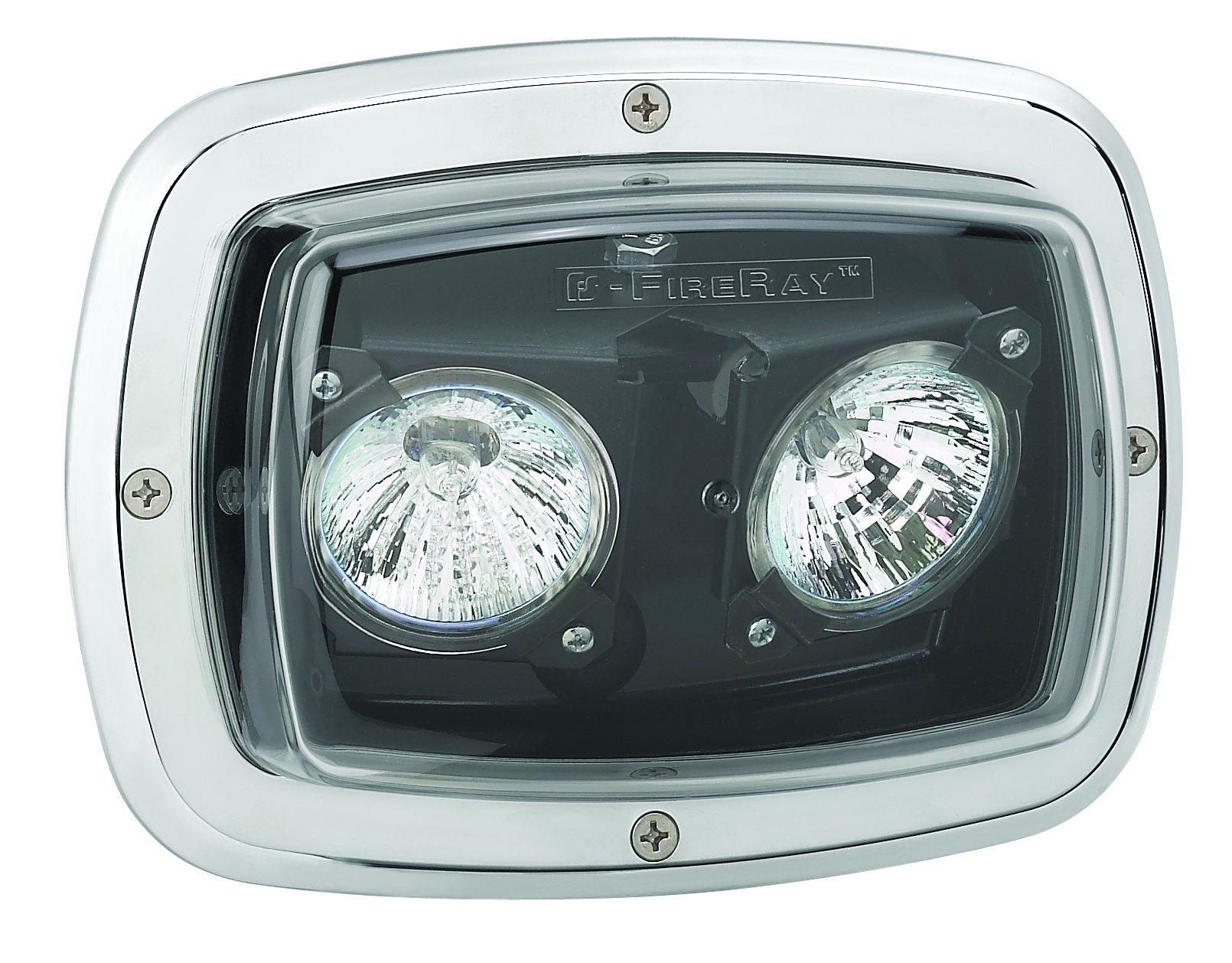 Federal Signal GHSCENE 20W Adjustable Halogen Scene Light, Clear Lens