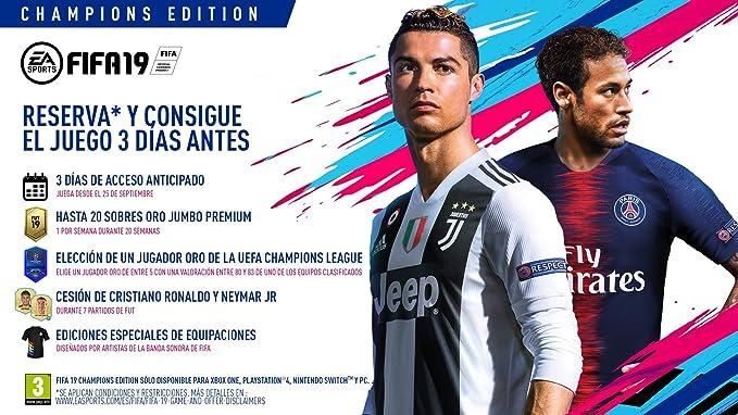 FIFA 19 - Standard Edition | Xbox One - Código de descarga: Amazon ...