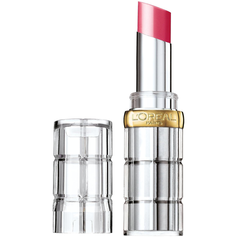 L'Oreal Paris Makeup Colour Riche Shine Lipstick, Laminated Fuchsia, 0.1 oz.