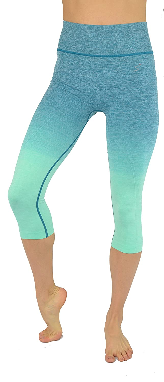 cb6b2514f9 KVKSEA Women's Flexible Yoga Pants Ombre Leggings Activewaer L704 XS-3X:  Amazon.ca: Clothing & Accessories