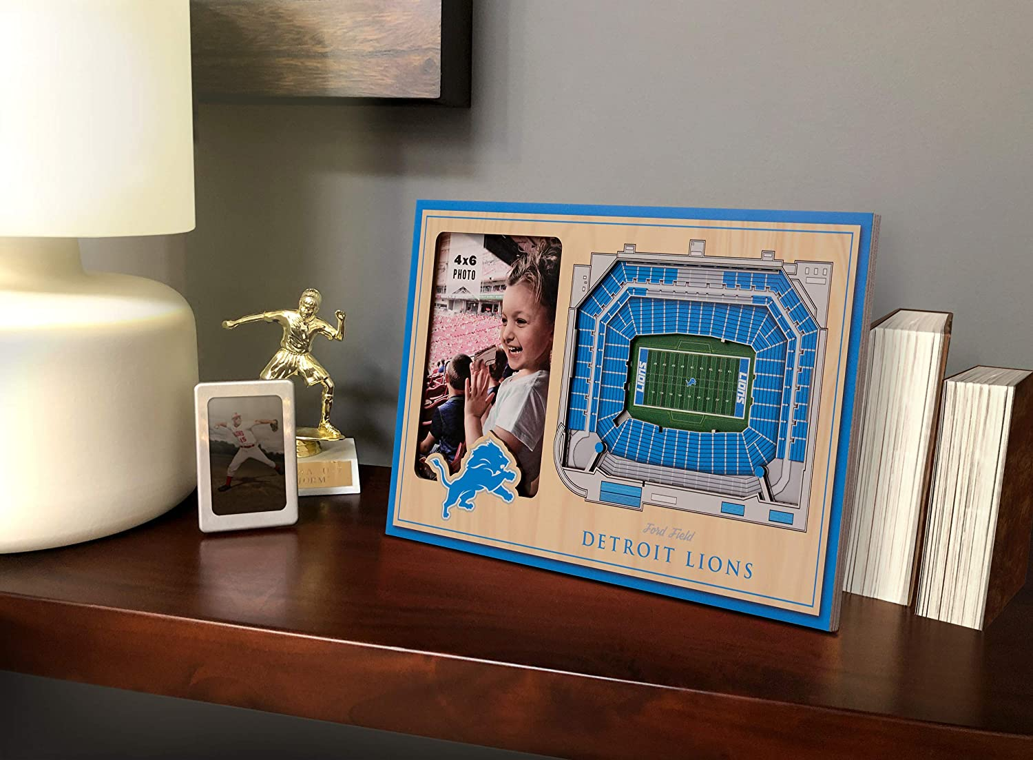 Picture Frame and 3D Artwork Combo YouTheFan NFL 12 x 8 3D StadiumView Frame