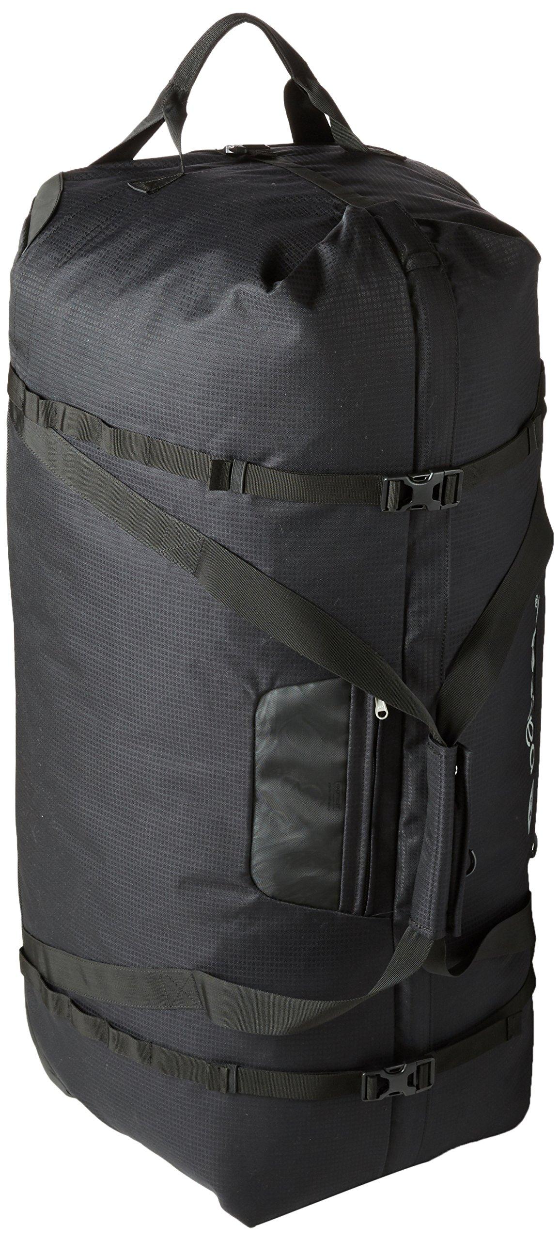Pacsafe Duffelsafe AT120 Anti-Theft Wheeled Duffel Bag, Black by Pacsafe