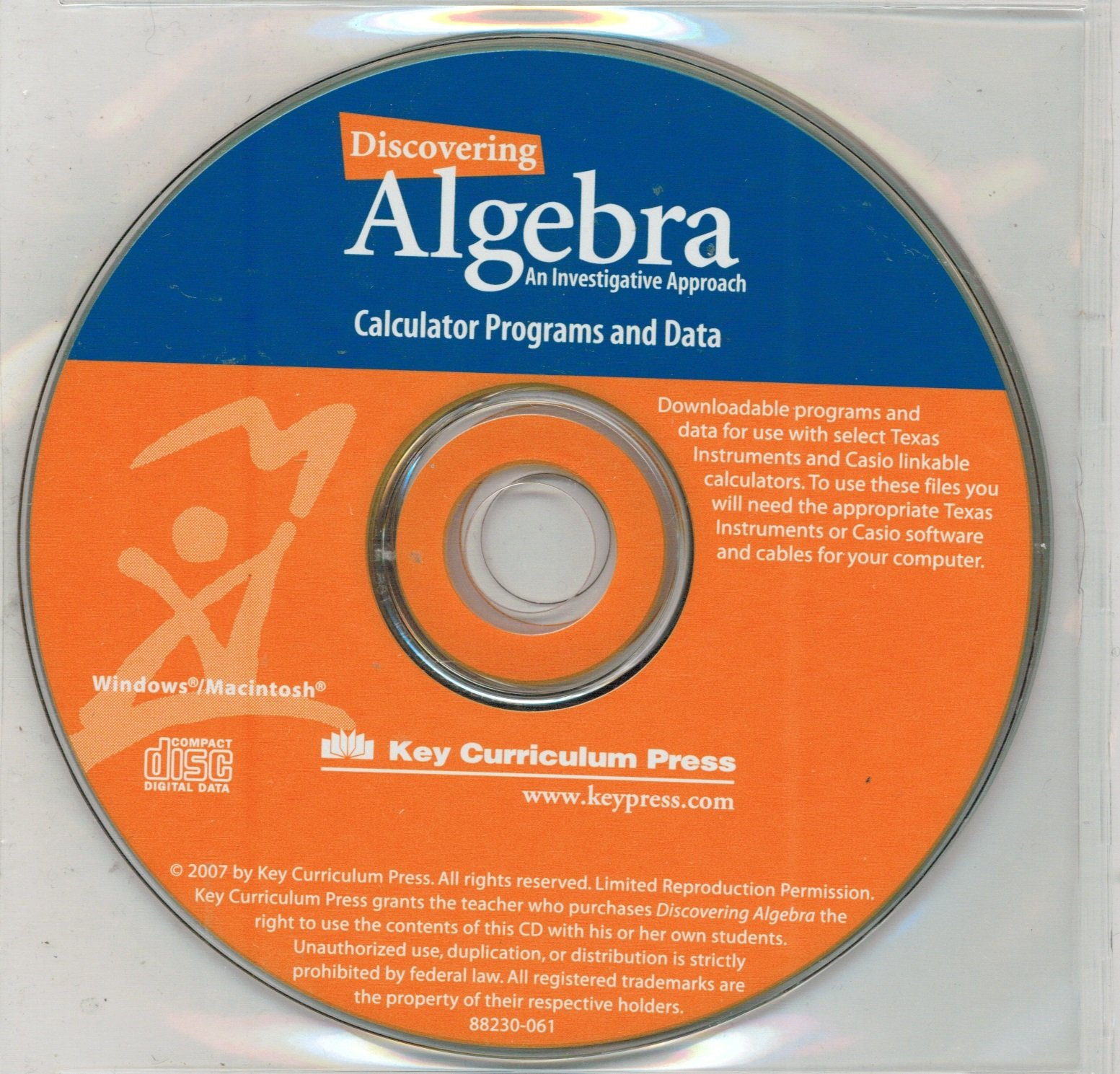 Discovering Algebra: An Investigative Approach (Grade Level 8, Set