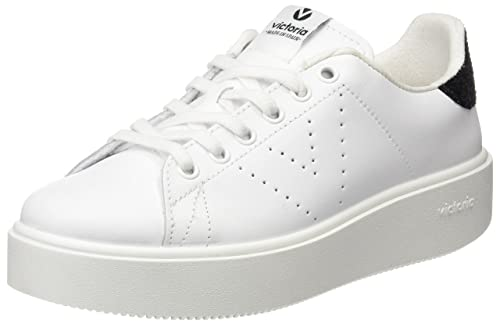 Deportivo Piel, Unisex Adults Low-Top Trainers Victoria
