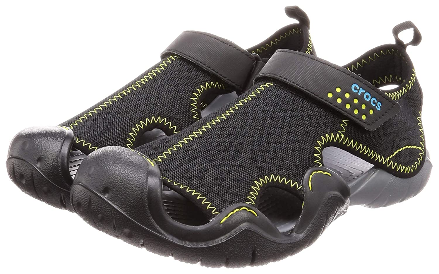25caa0e1a46 Crocs Men Swiftwater Sandals  Amazon.co.uk  Shoes   Bags