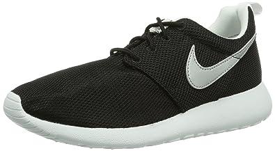 Nike (Gs Big Kids Rosherun Running Shoes, Black, 5.5 M Us