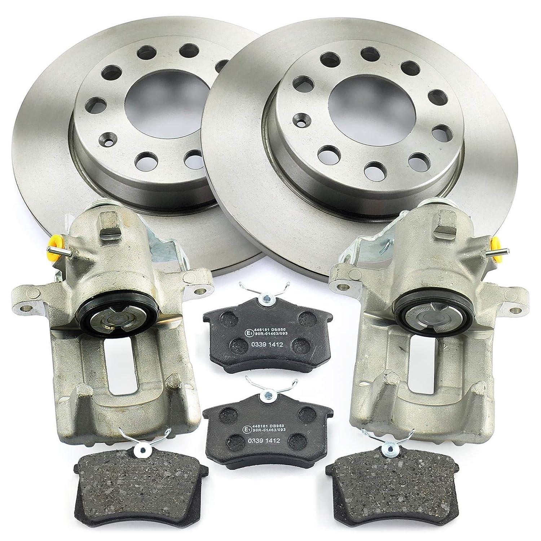 2x Bremssattel Bremsscheiben Bremsbel/äge hinten NB PARTS GERMANY 10069561
