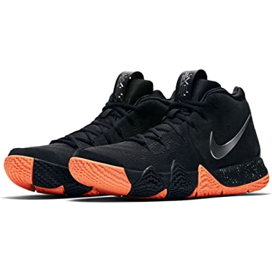 542366c8e06 Nike Kyrie 4-943806010 - Color Black-Orange - Size  8.0  Amazon.co ...