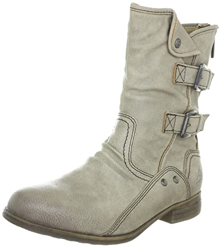 info for bb46f 47ae3 Mustang Damen-Stiefel Boots Womens Brown Braun (Taupe 318 ...