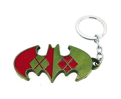 Gemelolandia Llavero Logo Batman Dorado y Rojo: Amazon.es ...