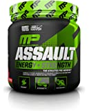MusclePharm Assault Sport Nutrition Powder, Fruit Punch, 30 Servings