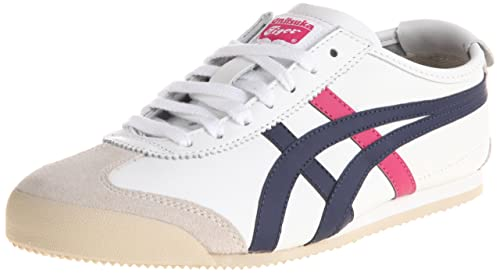 newest 9567a 3a4a7 Asics Onitsuka Tiger Mexico 66 Shoes WHITE/NAVY/PINK THL7C2 ...