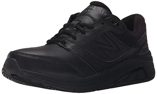 New Balance Women's 928v2 Walking Shoe, Black, 5 B US