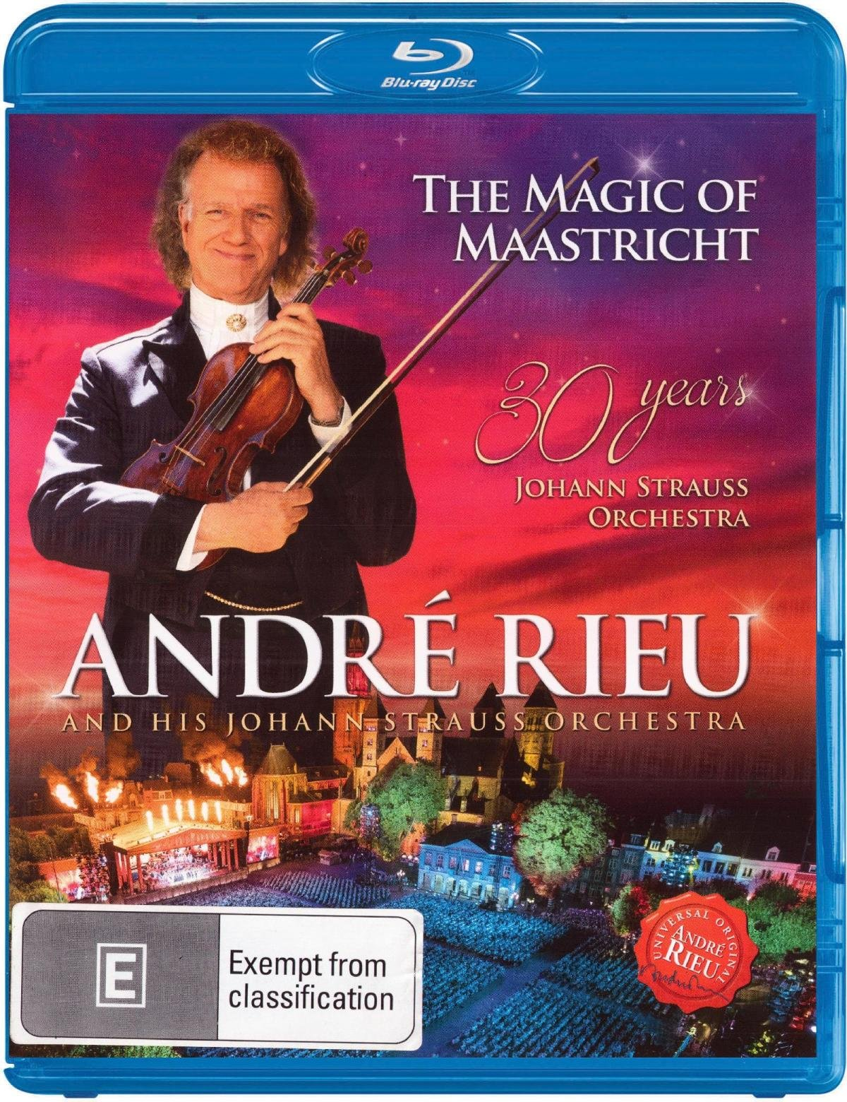 Blu-ray : Andre Rieu - What a Wonderful World: Music for a Better World (Blu-ray)