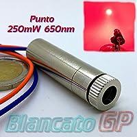 módulo láser 250mw 650nm punto Rojo Fuego regulable/Industrial