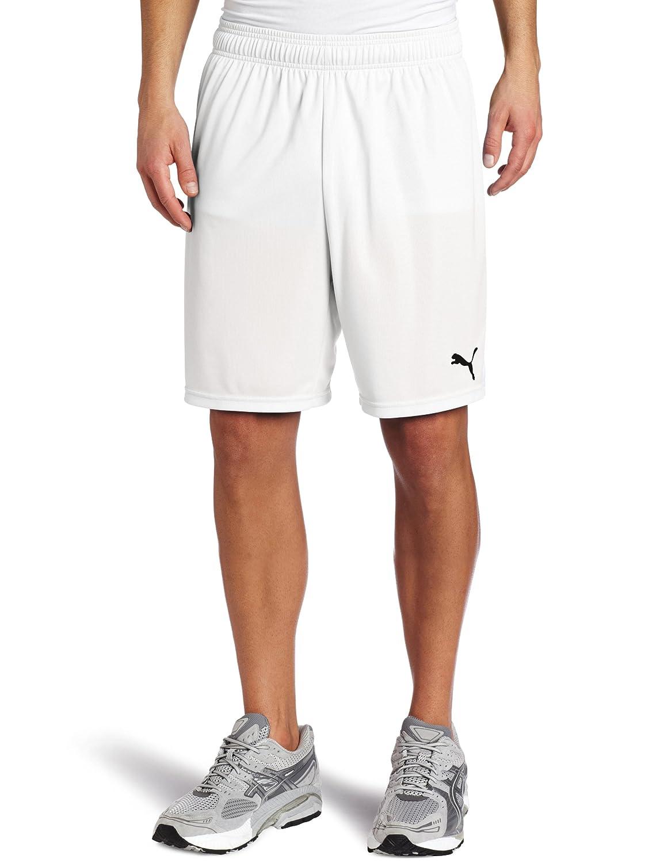 PUMA Team Shorts without Inner Slip, Weiß-Weiß, X-Large