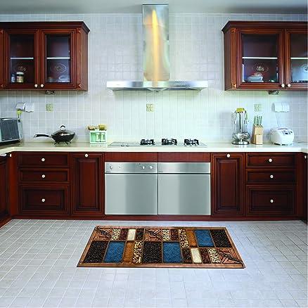Tappeto cucina lavabile in lavatrice, passatoia cucina, 52 cm x ...